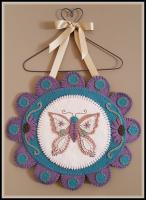 Butterfly Kisses Wall/Table Mat Pattern PLP-222e