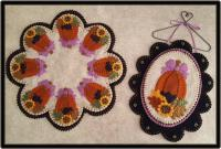 Fancy Fall Candle Mat & Mini Mat Pattern PLP-232e