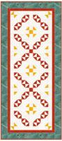 Colors of Fall Tablerunner Quilt Pattern PM2-18100
