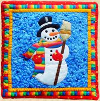 Snowman Pillow Pattern PPP-001