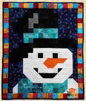 January Snowman Quilt Pattern PPP-020