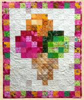 August Ice Cream Cone Quilt Pattern PPP-027