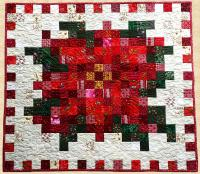 December Poinsettia Quilt Pattern PPP-031