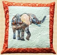 Elephant Pillow Pattern PPP-034