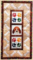 Puppy Paws Wall Hanging Pattern PPP-040