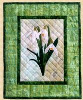 Snowdrops Wall Hanging Pattern PPP-043
