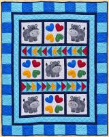 Happy Hippo Hop Quilt Pattern PPP-053