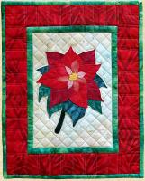 Poinsettia Wall Hanging Pattern PPP-057