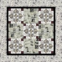Jolie Wall Hanging Quilt Pattern PQ-005