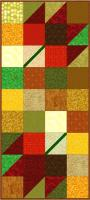 Fall Charmer Wall Hanging Quilt Pattern PQ-012