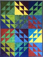 Big Surf Quilt Pattern PQ-017