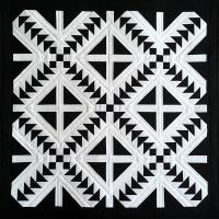 Cross Flight Quilt Pattern PQ-029