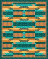 Turquoise Treasure Quilt Pattern PS-1003