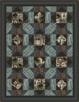 Fur Tracks Quilt Pattern PS-1020