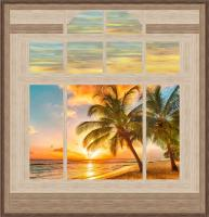 Livin' the Dream & Sunset Reflections Wall Hanging Patterns PS-1026