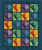 Cosmic Crystals Quilt Pattern PS-1059B