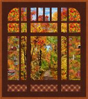 Fall Countryside Quilt Pattern PS-1065