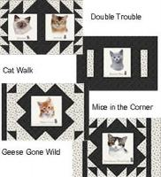 Kennel Quilts for Kitties Pattern PS-908