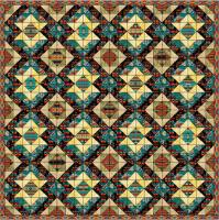 Stars Over Arizona Quilt Pattern PS-914