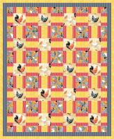 Poultry Party Quilt Pattern PS-920