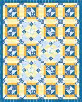 Flying in Circles Quilt Pattern PS-956