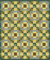 Blue Streams Emerald Seas Quilt Pattern PS-966