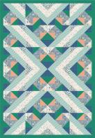 Teal a Point is Made Quilt Pattern PS-973