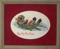 The Christmas Otter Cross Stitch Pattern PS-9742
