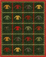 Christmas Cards Quilt Pattern PS 992