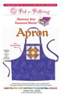 Block of the Month Apron Pattern PTE-005