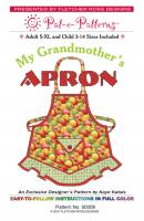 My Grandmother's Apron Pattern PTE-008