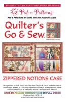 Quilter's Go & Sew Pattern PTE-010