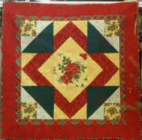Christmas Peace One Block Quilt Pattern PVQ-006e