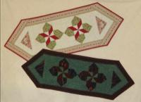 Abby's Star Flower Table Runner Pattern PVQ-010e