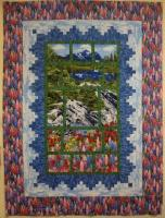 Mountain View Quilt Pattern PVQ-018e