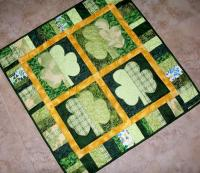 Shamrocks Quilt Pattern QBE-105e