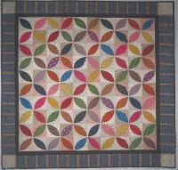 Orange Peel Quilt Pattern QBE-126e