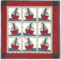 Sail Away Quilt Pattern QBE-127e