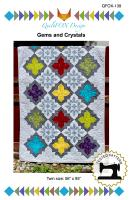 Gems and Crystals Quilt Pattern QFOX-139