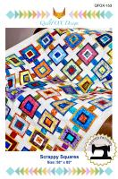 Scrappy Squares Quilt Pattern QFOX-153