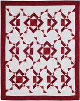 Ruby Shadow Quilt Pattern QJK-103