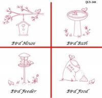 A Bird's Life Embroidery Pattern QLD-149e