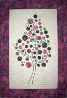 Branching Up Quilt Pattern QLD-184e