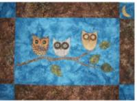 Night Owls Quilt Pattern QLD-187e