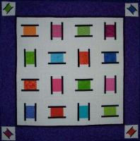 Busy Bobbins Quilt Pattern QLD-195e