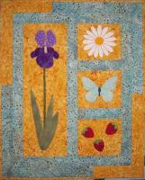 Summer Harmony Wall Hanging Pattern QLD-198e