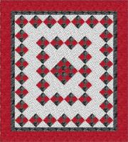 Foxtrot Quilt Pattern - Straight to the Point Series QW-05