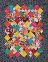 Contra Dance Tango Quilt Pattern - Straight to the Point Series QW-22