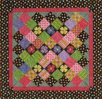 Accent on Charms Quilt Pattern - Straight to the Point Series QW-23