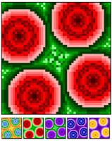 Circle Play Quilt Pattern RMT-0001e